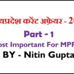 MP Current Affairs PDF in Hindi
