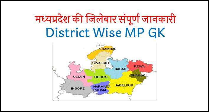 District Wise MP GK in Hindi